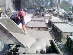 CLC Bricks Manufacturing Process